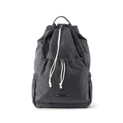 STRING BACKPACK CANVAS 701 15 CHARCOAL