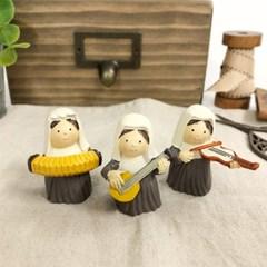 연주하는 악단 수녀 3종