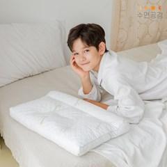 [수면공감] 우유베개 알파 주니어 프리미엄 라텍스 베개