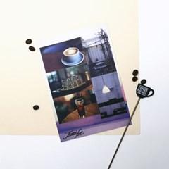 [제미포티] 데코 사진 스티커 _ 카페