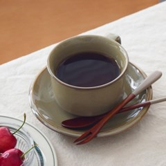 마사무라 커피잔 받침 세트 색상 선택 카페 찻잔