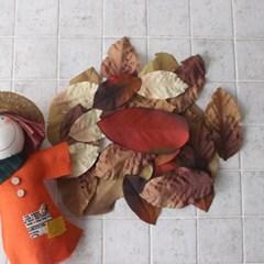 낙엽 조화 세트