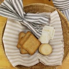 빈티지 스트라이프 티타올 겸 키친크로스 - 3color