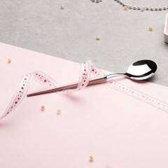 마카롱 스푼 (핑크) 2P