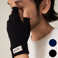 T204AACU61_WH LABEL FINGERLESS GLOVES