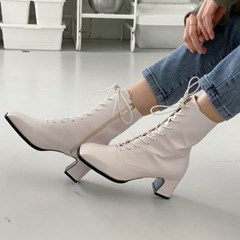 kami et muse Lace up middle boots_KM20w076