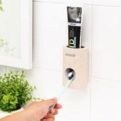 치약디스펜서 자동치약짜개 욕실용품 간편부착 욕실용품