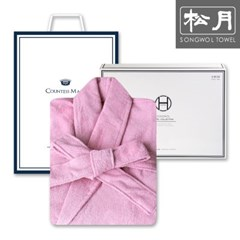 송월타월 호텔 30수 샤워가운 1매 세트(인디핑크)