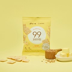 [NEW] 통밀로 구운 고단백 스낵, 99칼로리칩*20봉 (버터솔트)