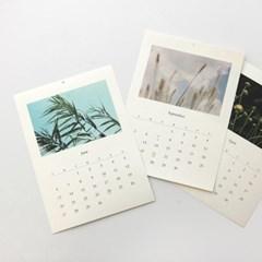 2021 Calendar_느린 계절