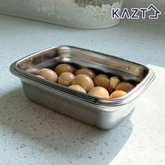 냉장고정리 스텐 반찬 밀폐용기 1호 350ml 1개