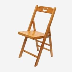 스마일 대나무 등받이의자 / 접이식 나무의자
