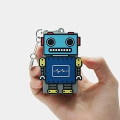 [A] 갤럭시 버즈 플러스/라이브 로봇 실리콘 케이스