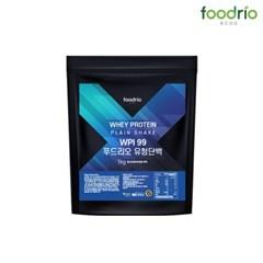 푸드리오 유청단백 헬스보충제 wpi99 1kg