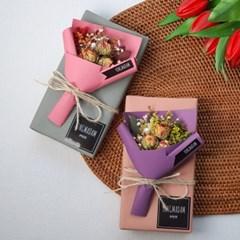 빼빼로데이꽃 선물 미니꽃다발+메시지카드