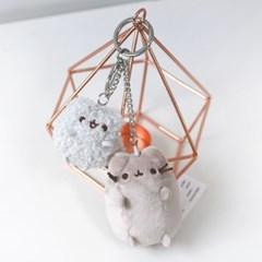 6050443 푸신캣 푸신고양이와 스토미 가방고리