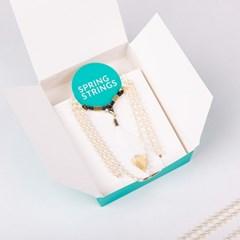 Pearl Chain _ White (진주 안경줄, 마스크목걸이 겸용)