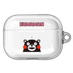구마몬 러블리 투명 에어팟프로/Pro 케이스      핑크