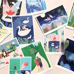 12 POSTCARDS SET_엽서세트