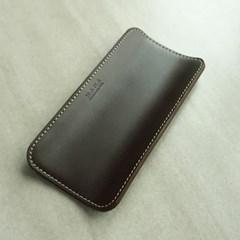 Leather PenTray - 천연가죽 펜슬트레이 [핫초코]
