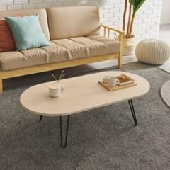 반슨 스틸 거실 원형 테이블 1200