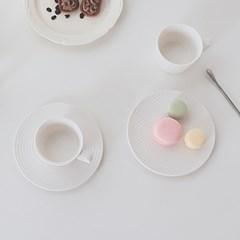 까르다 화이트 베이직 커피잔세트 레귤러 커피잔