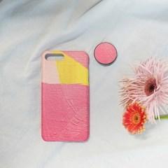 핑크페인팅 폰케이스