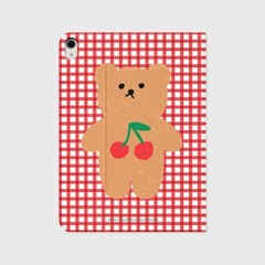 Cherry big bear-pink(아이패드-커버)_(1646209)