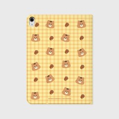 Check squirrel acorns-yellow(아이패드-커버)_(1646211)