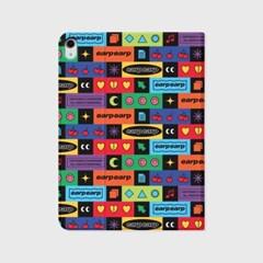 Brick pattern-colorful(아이패드-커버)_(1646213)