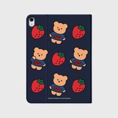 Strawberry bear-navy(아이패드-커버)_(1646225)