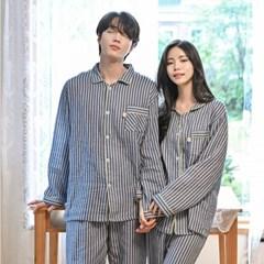 (4color)도톰한 요루면 커플 잠옷 홈웨어