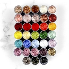 [10g] 미유키 델리카 비즈 1.6mm, 33 colors