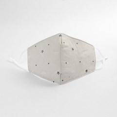별패턴 3겹 필터 면마스크(그레이) / 입체 순면마스크