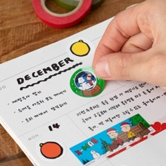 [Peanuts] 크리스마스 스티커