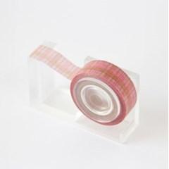 Autumn Check Masking Tape [Indi Pink]