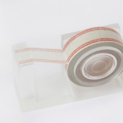 Overlock Stitch Masking Tape [Red Stitch]