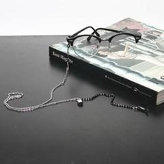 Lock glasses chain necklace