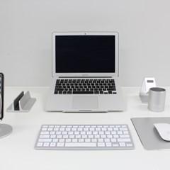 알루미늄 노트북 거치대 플레이트형(맥북 갤럭시북 그램)