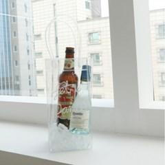 와인칠링백 와인쿨러 백 PVC 쿨링 아이스 가방 맥주 버킷 칠러 보냉