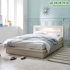 라자가구 오브 에단 LED 평상형 Q 침대프레임 DM9041
