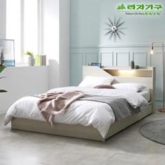 라자가구 오브 아바 LED 수납형 Q 침대프레임 DM9061