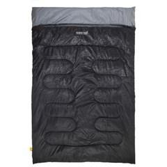 스노우아울 캠핑 침낭 코쿤 2인용 블랙 슬리핑 백 W2900