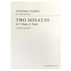 ANTONIO VANDINI For Cello and Piano TWO SONATAS
