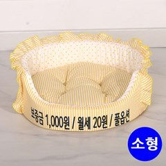 인펫 원방석 (옐로우) (소형)