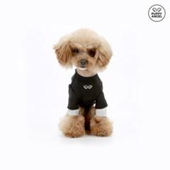 [TS505] 퍼피엔젤 러프컷 레이어드 강아지라운드티셔츠 소매길이조절