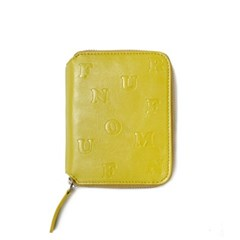 Signature Wallet_ Lime yellow