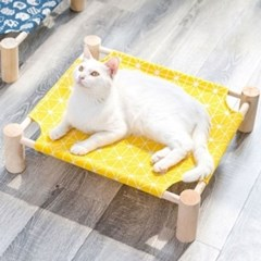 DQ ODD149 원목 침대 해먹 (파란고양이)