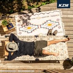 카즈미 캡틴 캠프코트 K20T1C023 / 야전침대 침대의자 침대의자