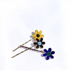 FLOWER POWER HAIR PIN (SET OF 3)